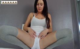 Monster turd in white panties